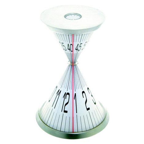 时之沙唯美创意计时器 经典沙漏造型,一根红线指示时间