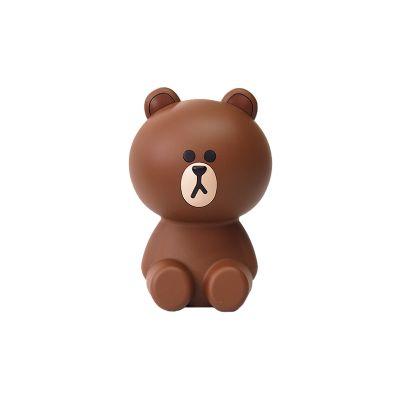韩国line friends 布朗熊迷你空气净化器